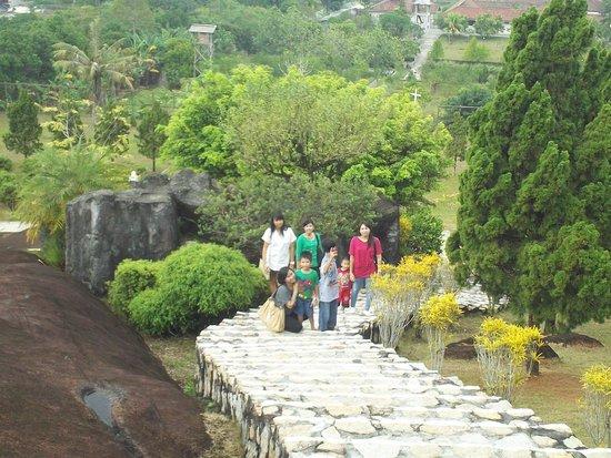 Tangga Terbuat Batu Tangkiling Picture Bukit Doa Karmel Palangkaraya Kota