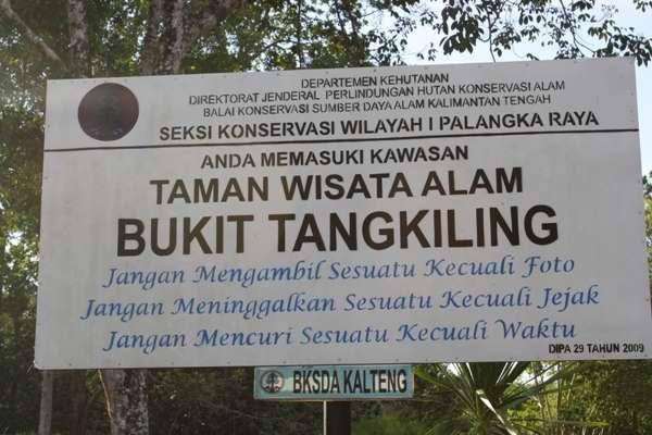 Toko Souvenir Singapore Palangkaraya 2014 Kalimantan Tengah Lokasi Wisata Bukit