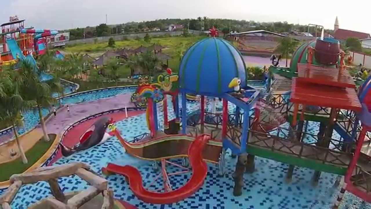 Indonesia Dji Phantom Vision Kalawa Waterpark Palangkaraya Kota