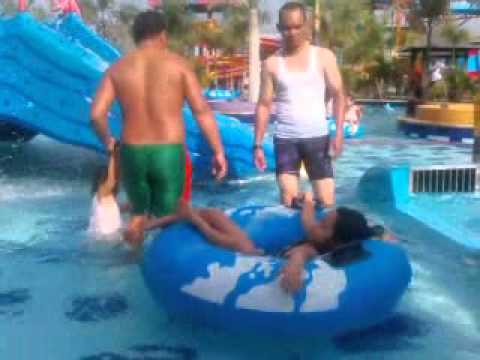 Kalawa Water Park Palangka Raya Kalteng 2015 Youtube Waterpark Kota