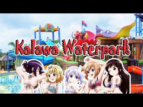Kalawa Waterpark Palangkaraya Youtube Kota