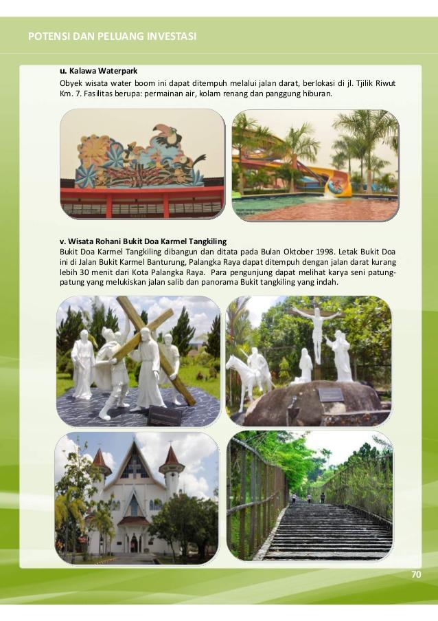 Selayang Pandang Kota Palangka Raya 2016 Kalawa Waterpark Palangkaraya