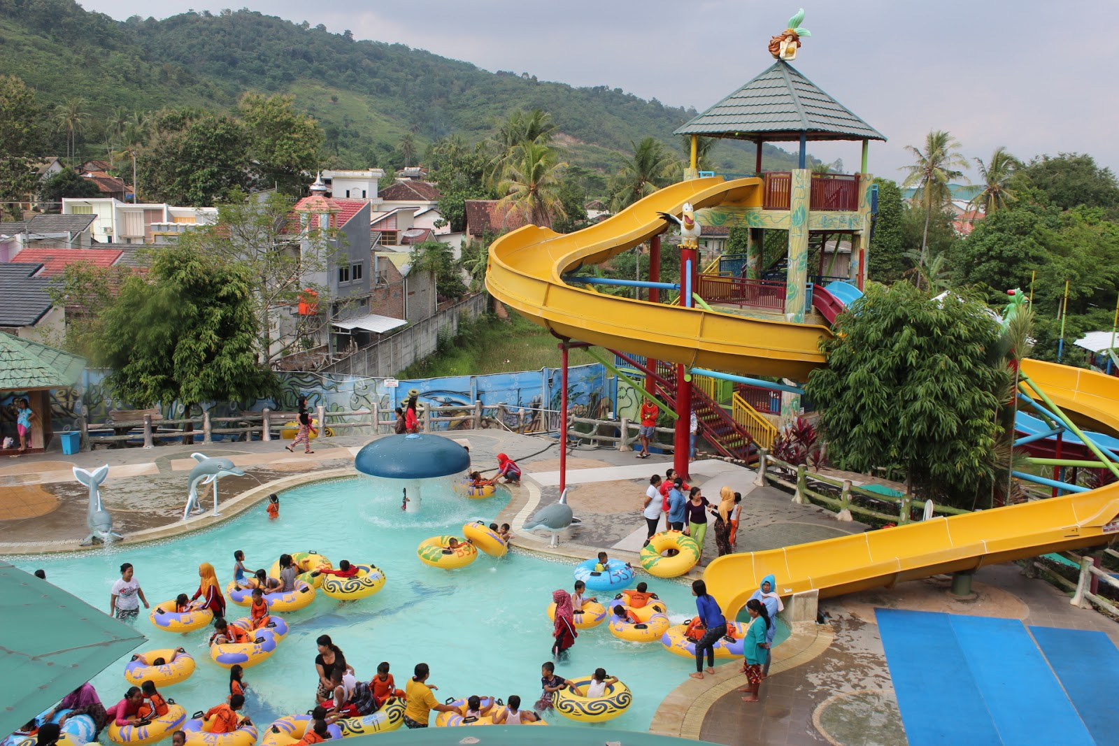 Water Theme Parks Indonesia List Tourism Mermaid Tirtayasa Waterpark Sport