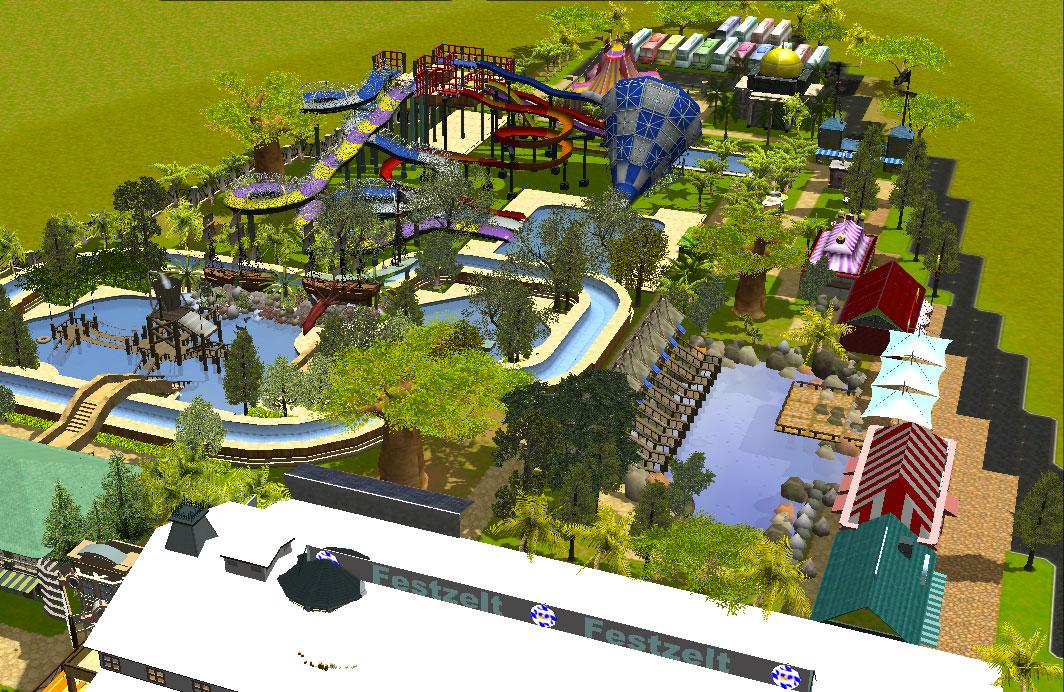 Waterpark Kontraktor Waterboom Laman 2 Rev 3 Cilegon Kalawa Kota