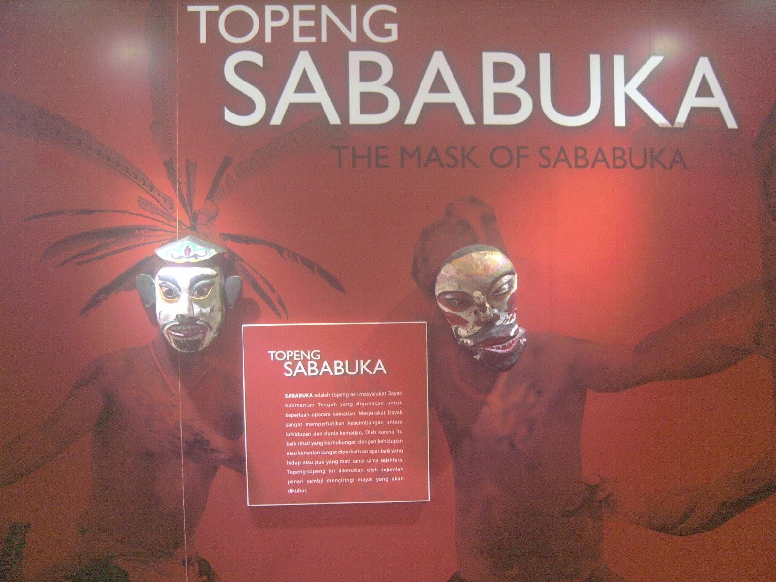 Fery Putra Seruyan Museum Balanga Kota Palangka Raya Kalimantan Koleksi