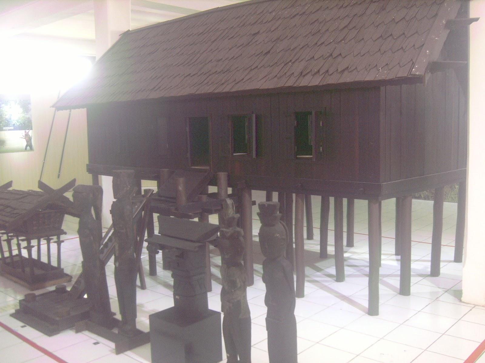 Fery Putra Seruyan Museum Balanga Kota Palangka Raya Kalimantan Rumah