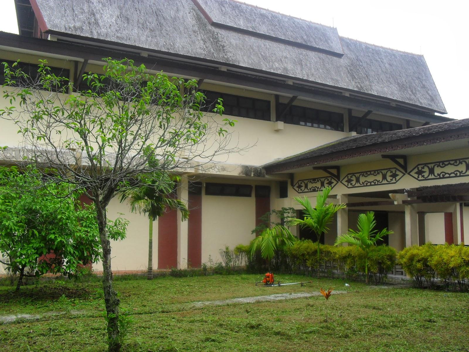 Mahakam24 Museum Balanga Palangkaraya Kalimantan Tengah Gedung Pamer Terdiri Dua