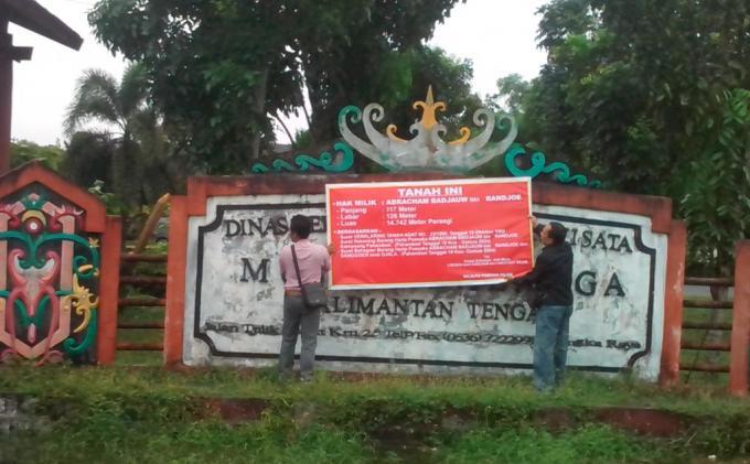 Museum Balanga Palangkaraya Disegel Tribun Kalteng Kota