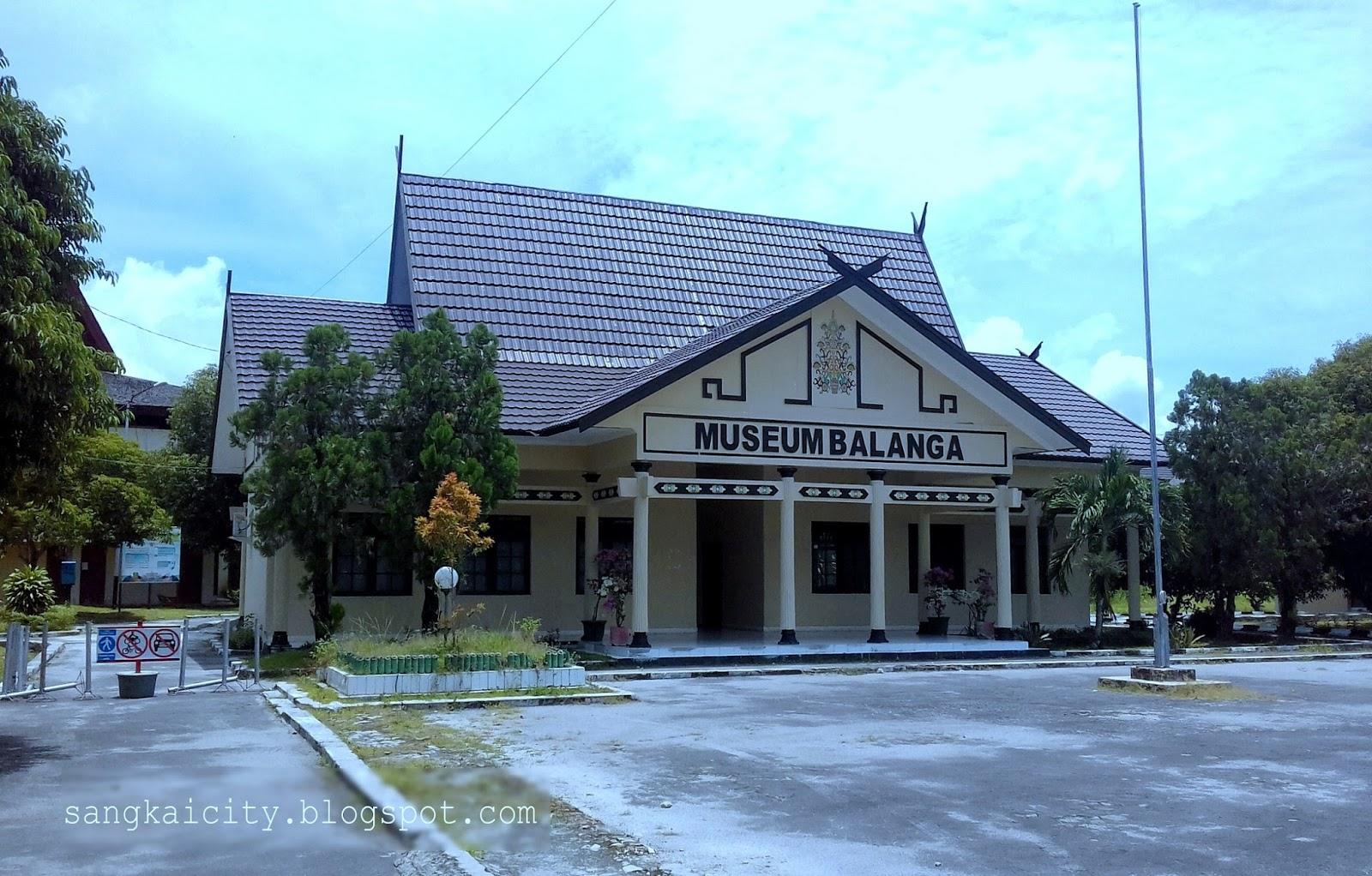 Museum Balanga Provinsi Kalimantan Tengah Sangkay City Kota Palangkaraya