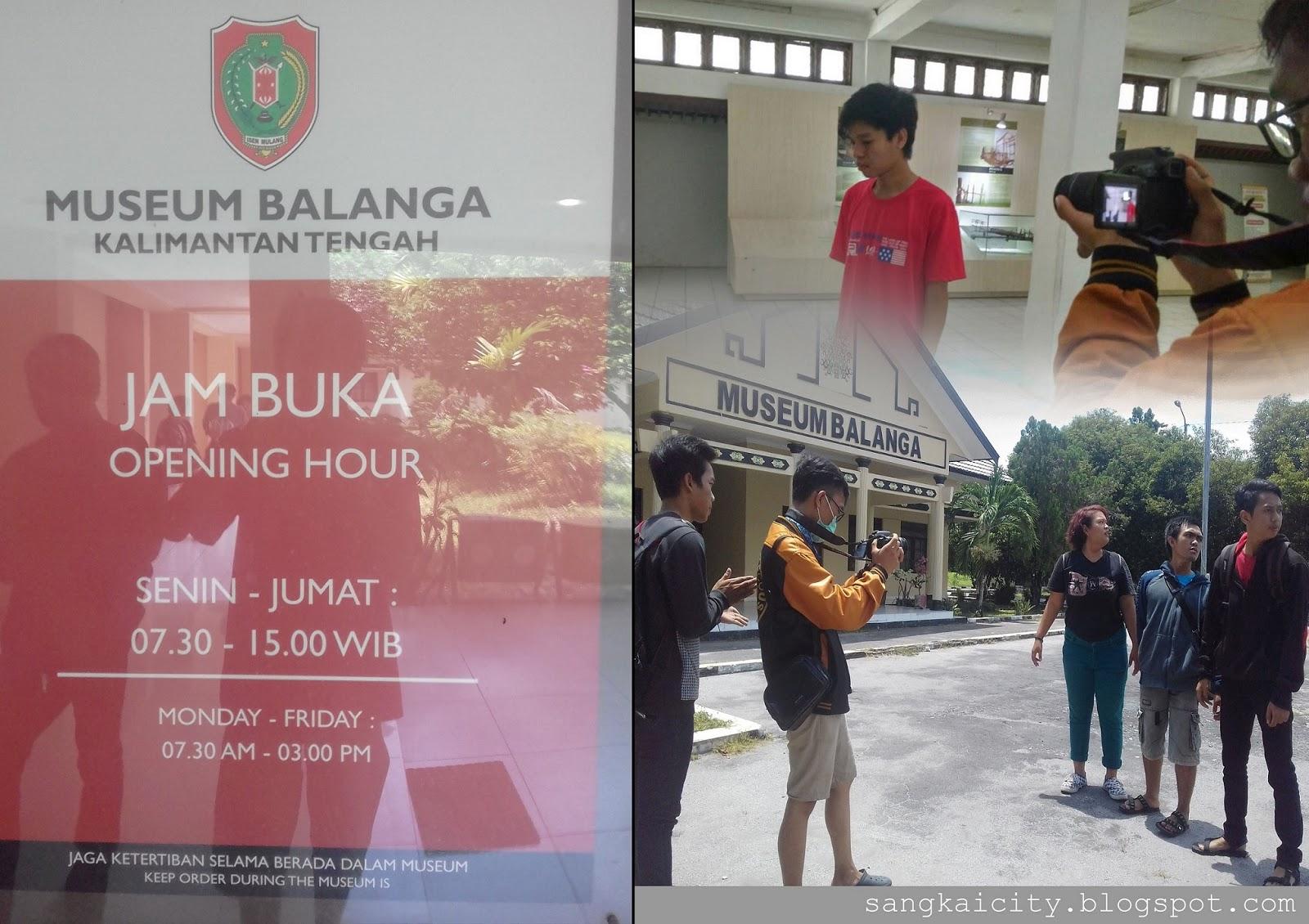 Museum Balanga Provinsi Kalimantan Tengah Sangkay City Pembuatan Film Kota