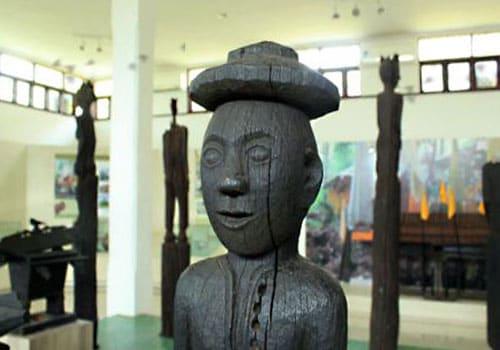 Palangkaraya Balanga Museum Located City Central Kalimantan Province Indonesia Jalan