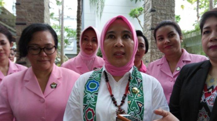 Istri Kapolri Terpesona Liat Pusat Rehabilitasi Orangutan Nyarumenteng Harapannya Tribun