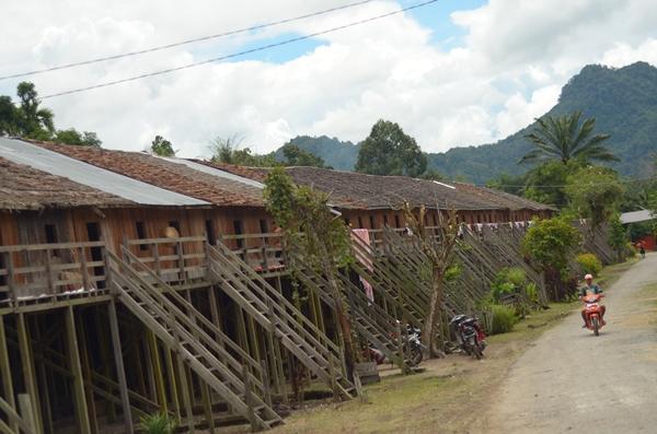 Beragam Sebutan Digunakan Menyebut Rumah Adat Suku Dayak Salah Satu