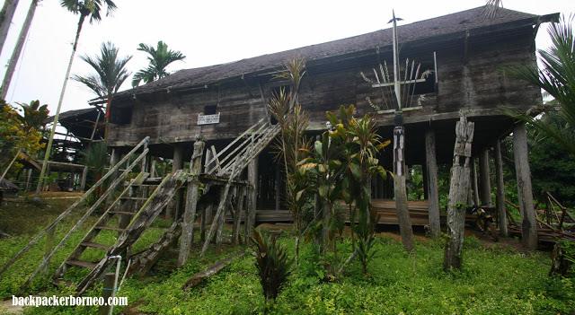 Betang Tumbang Korik Pertualangan Ala Borneo Backpacker Ibu Kota Provinsi