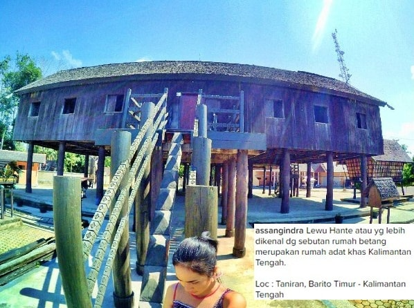 Daftar Gunung Kalimantan Tengah Lengkap Lewu Hante Rumah Betang Kalteng