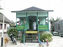 Kalimantan Tengah Wikipedia Bahasa Indonesia Ensiklopedia Bebas Arsitektur Rumah Baanjung