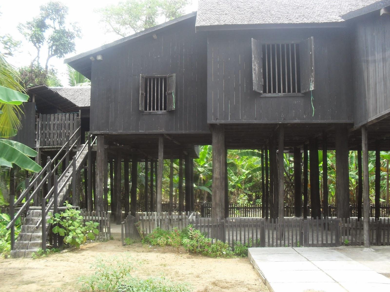 Mahakam24 Rumah Betang Desa Buntoi Mendatangi Terkesan Ribet Melelahkan Tetapi