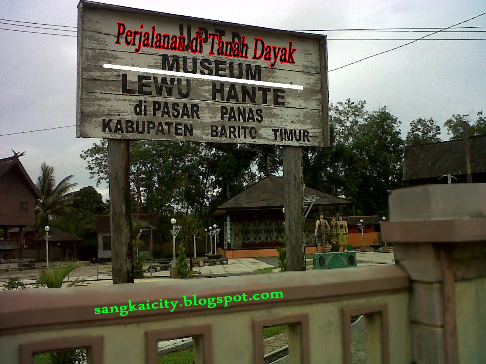 Objek Wisata Museum Lewu Hante Pasar Panas Bar Tim Sangkay