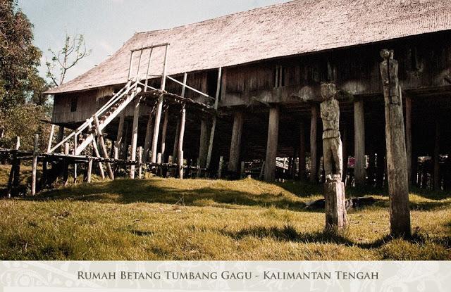 Rumah Adat Betang Kalimantan Tengah Info Itah Bentang Kota Palangkaraya