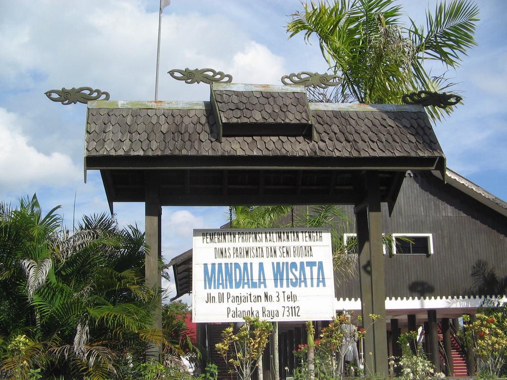 Rumah Betang Asli Tengah Kota Lomardasika Blog Bumi Tambun Bungai