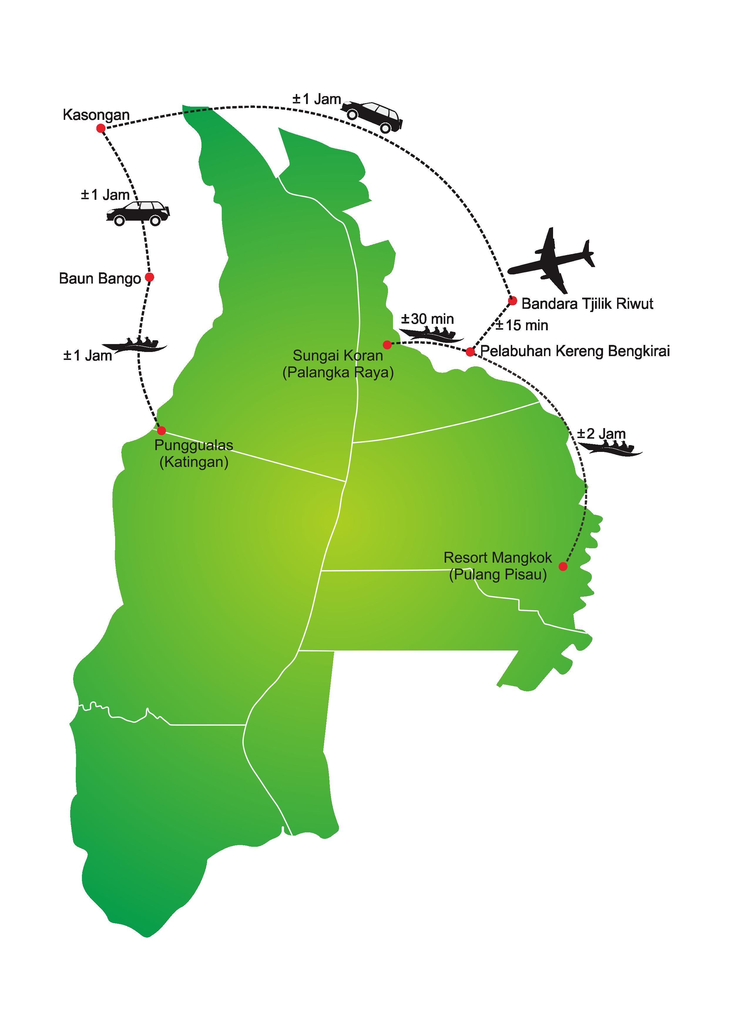 Aksesibilitas Menuju Tn Sebangau Taman Nasional Salah Satu Memiliki Cukup