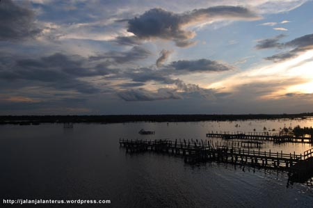 Danau Kereng Bangkirai Palangkaraya Nagari Sempat Sebagai Tuan Rumah Olahraga