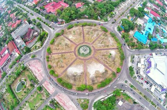 Palangkaraya Sebuah Kota Sekaliagus Ibu Provinsi Kalimantan Tengah Taman Nasional