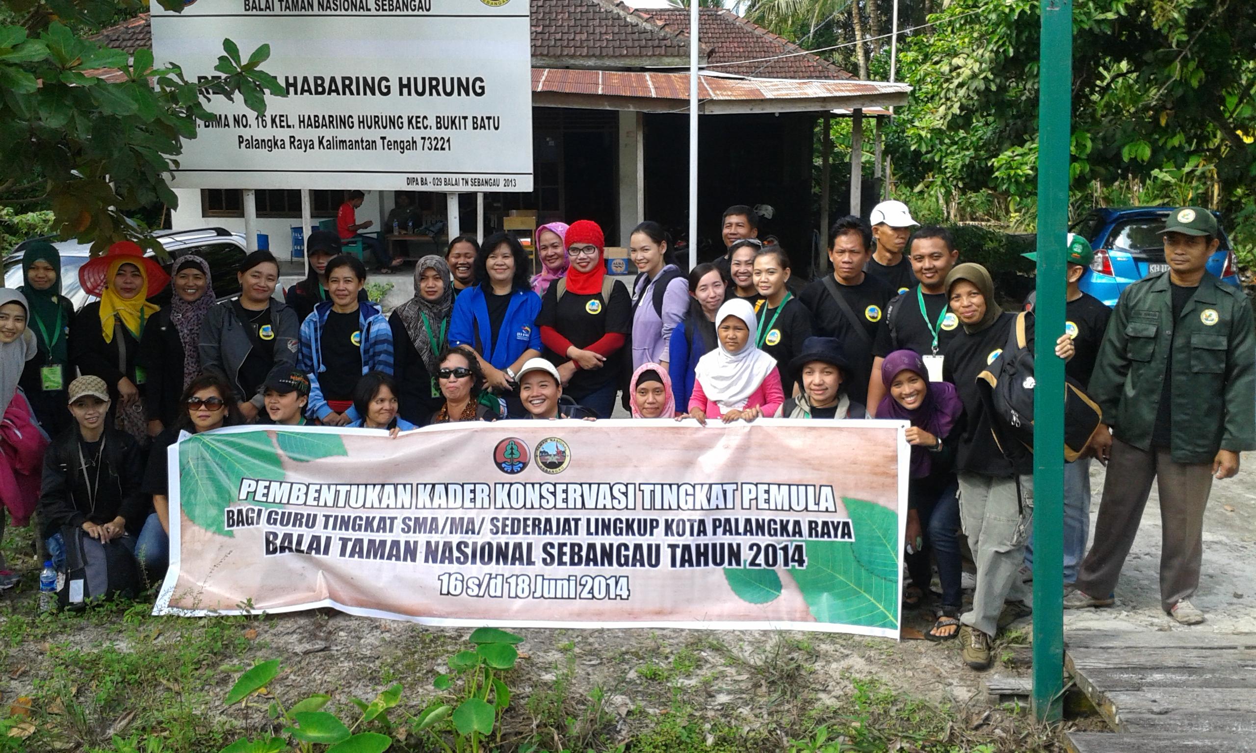 Pendampingan Guru Kader Konservasi Bersama Tn Sebangau Fakultas Semoga Kerjasama