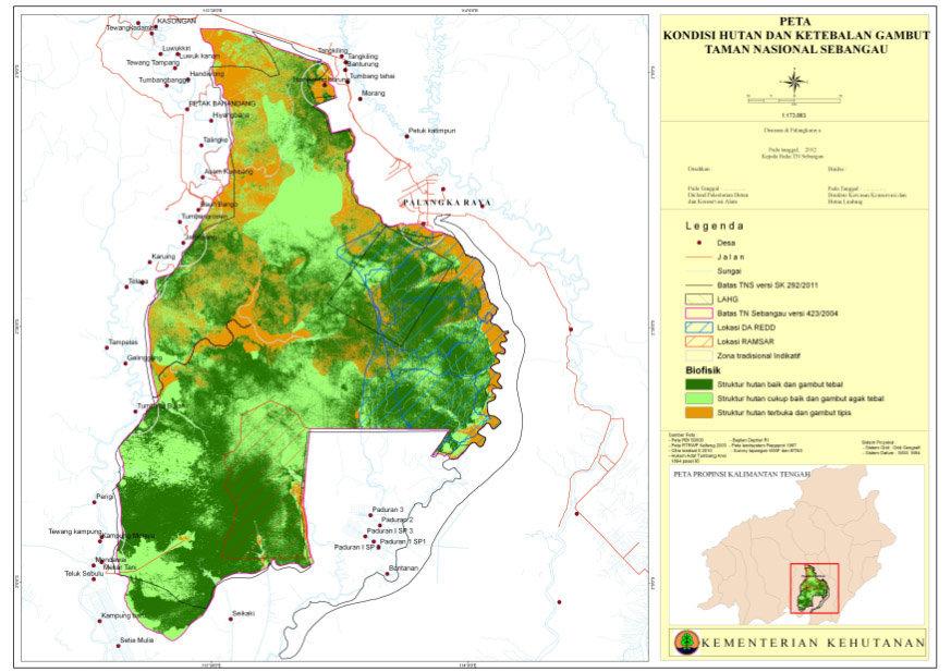 Taman Nasional Sebangau Rumah Bagi Reptil Kalimantan Kaskus Kota Palangkaraya