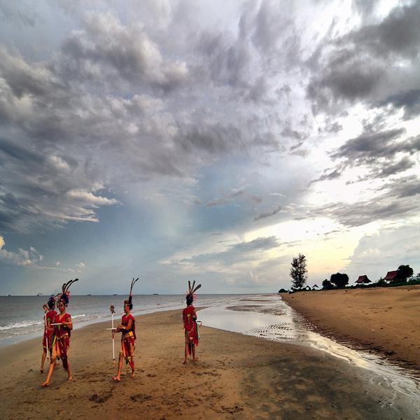 10 Tempat Wisata Palangkaraya Alami Indah Lihat Id Pantai Ujung