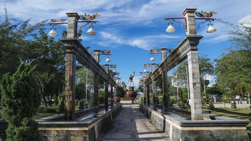 13 Tempat Wisata Palangkaraya Bagus Ngehits Sekilasinfo Taman Kota Fantasi