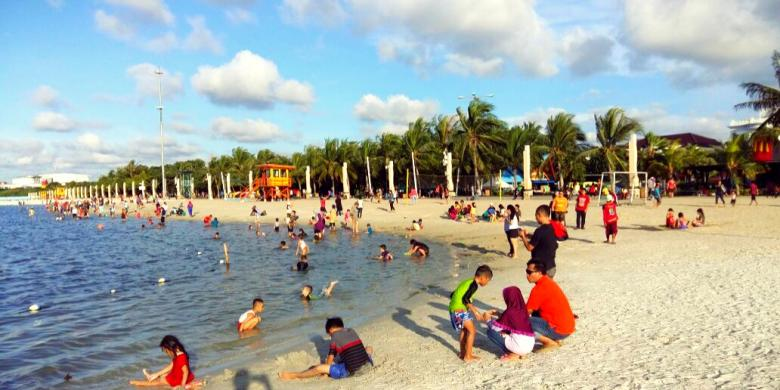 13 Top Ancol Dreamland Jakarta Allindonesiatourism Taman Wisata Fantasi Beach