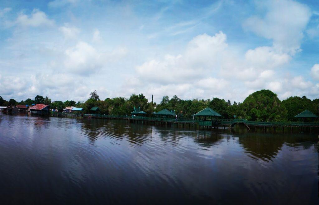 Ibukota Pindah Palangkaraya Pilihan Wisatanya Danau Tahai Jadi Salah Spot