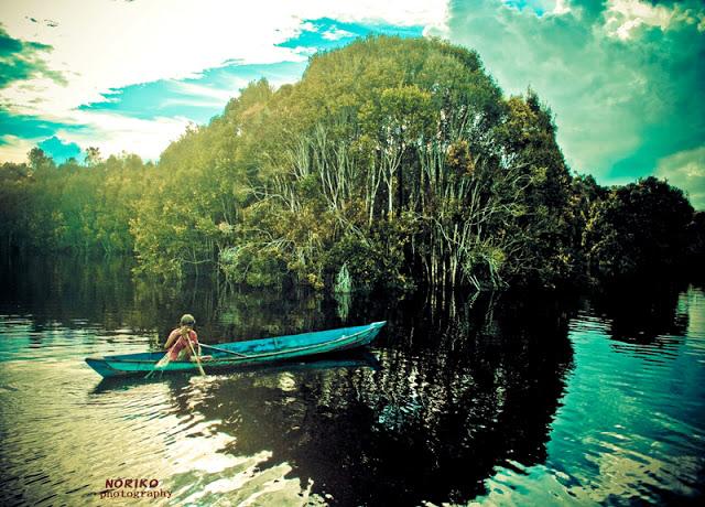 Info Kalimantan Tempat Wisata Kota Palangkaraya Danau Tahai Berjarak Sekitar