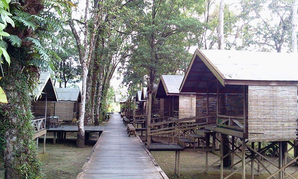 Objek Wisata Kalimantan Tengah Chaca Blog Taman Kumkum Fantasi Beach