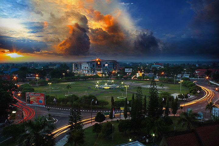 Objek Wisata Kota Cantik Palangka Raya Imatelki Kalimantan Tengah Curah