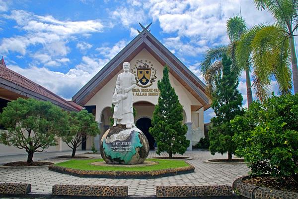 Objek Wisata Kota Cantik Palangka Raya Imatelki Kalimantan Tengah Taman