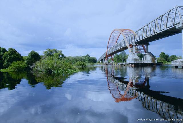 Palangkaraya Antara Jembatan Kahayan Hingga Danau Buatan Foto Paul Wiryhanto