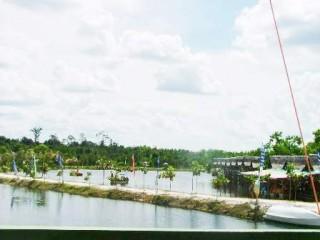 Taman Gaul Padat Pengunjung Tribun Kalteng Wisata Fantasi Beach Kota