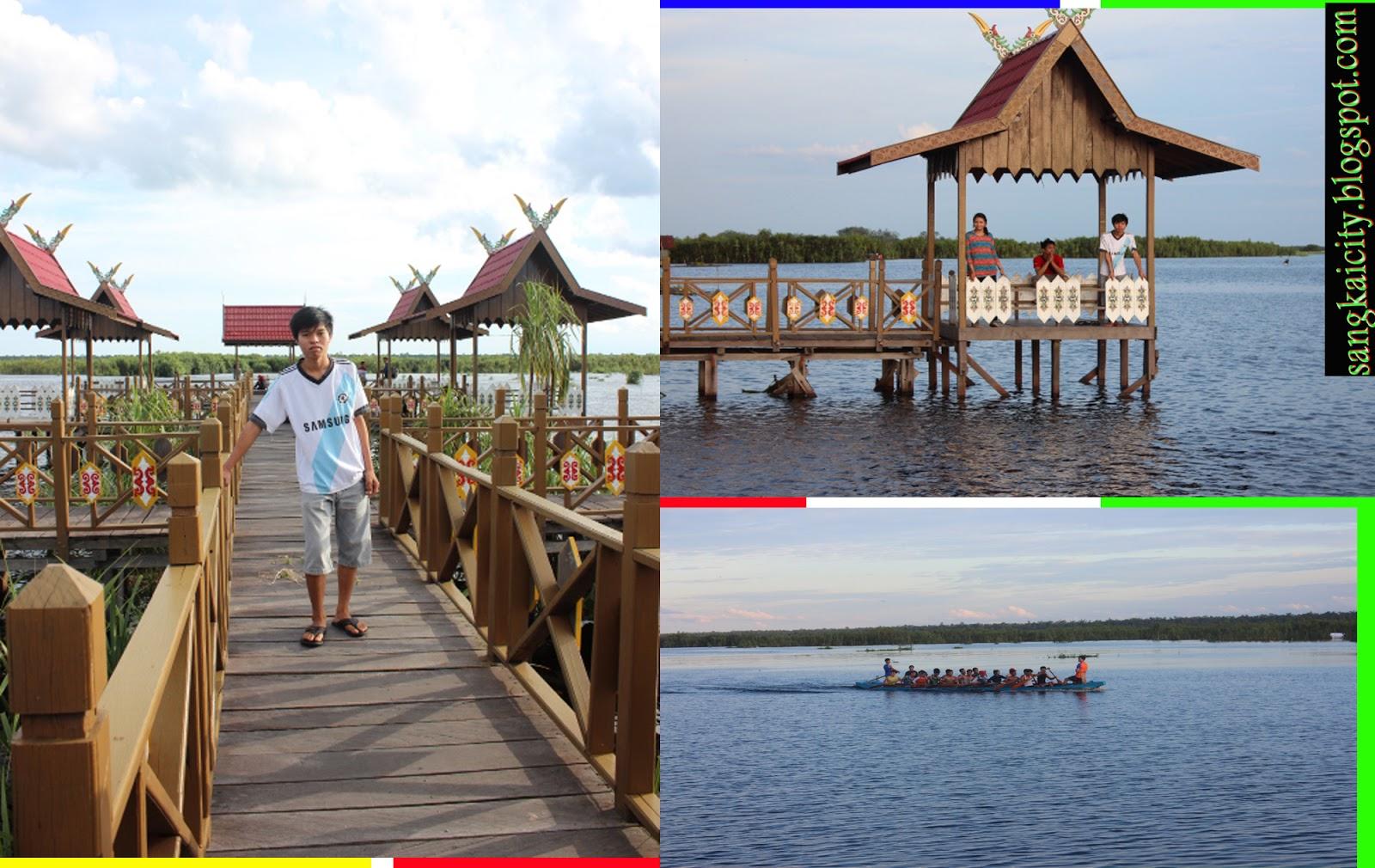 Tempat Wisata Palangkaraya Giveabookok Objek Danau Kereng Bangkirai Palangka Raya