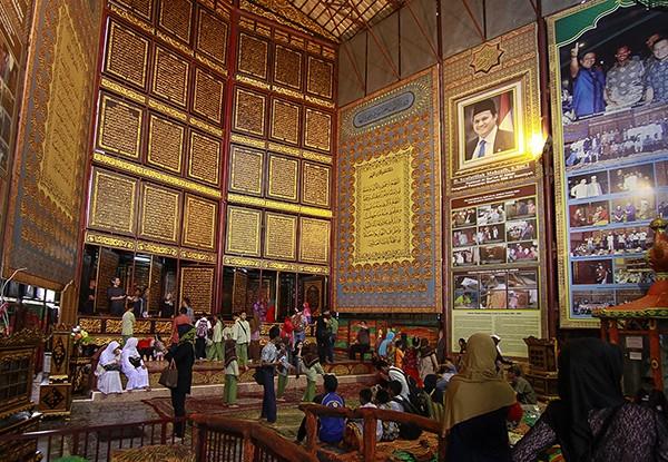 4 Wisata Religi Palembang Menarik Dikunjungi Museum Al Quran Raksasa