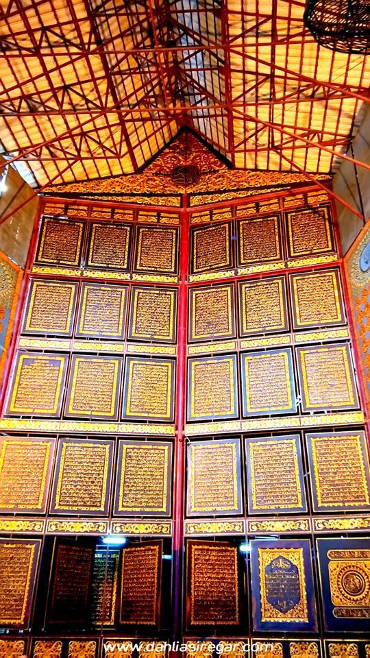 Bayt Al Qur Akbar Palembang Terletak Daerah Gandus Artinya Rumah