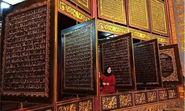 Lokasi Al Quran Akbar Palembang Harga Tiket Masuk Jam Buka