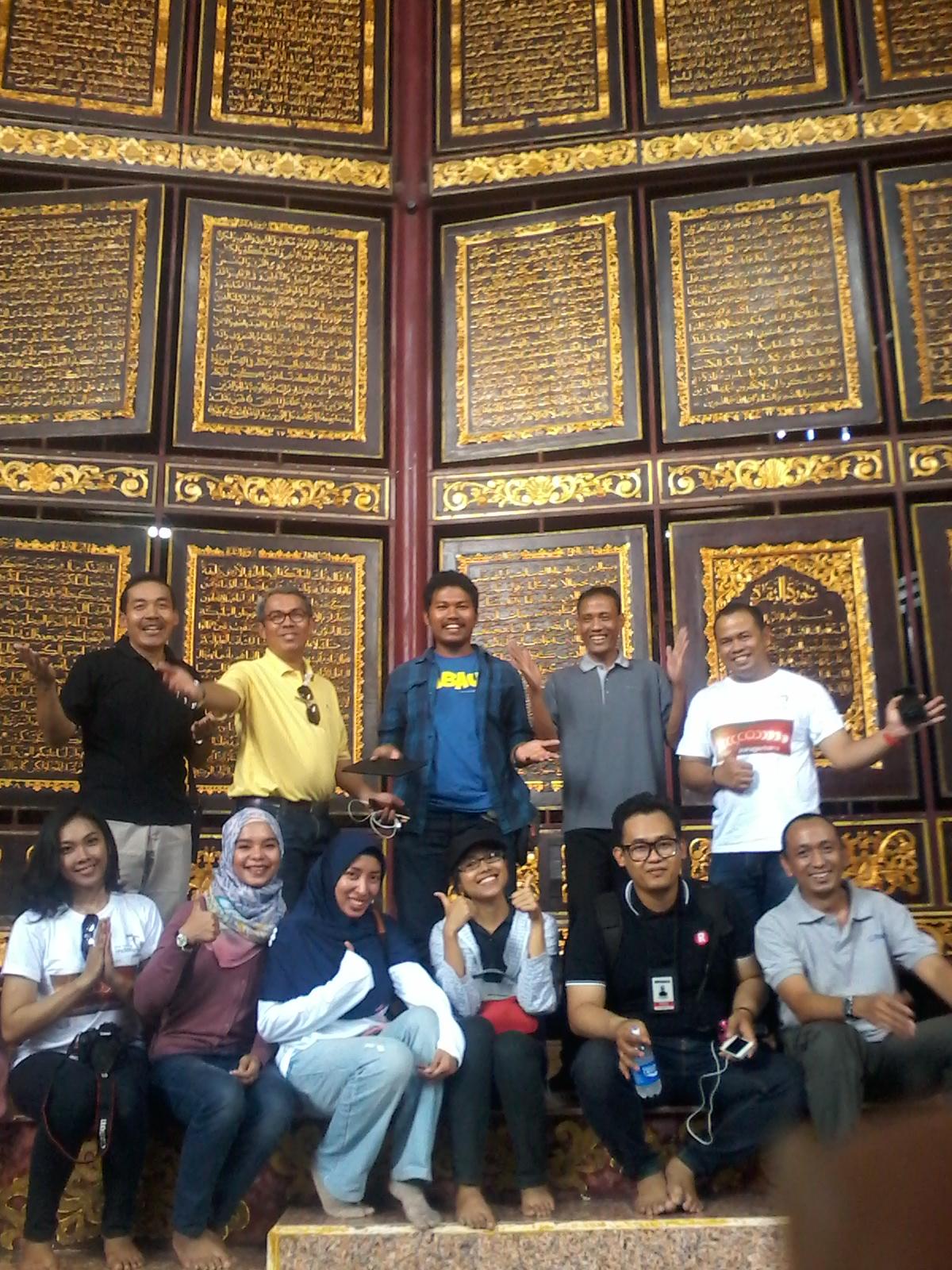 Travelplusindonesia Bayt Al Qur Akbar Diminati Wisatawan Gmt Obyek Wisata