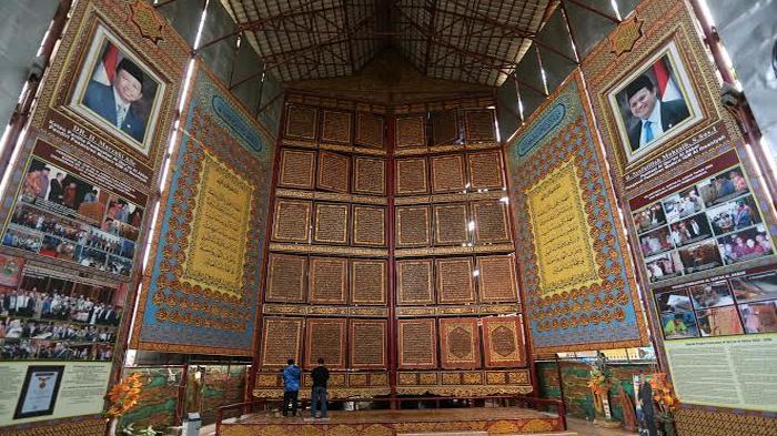 Wisata Religi Museum Al Qur Raksasa Kota Palembang Rental Mobil