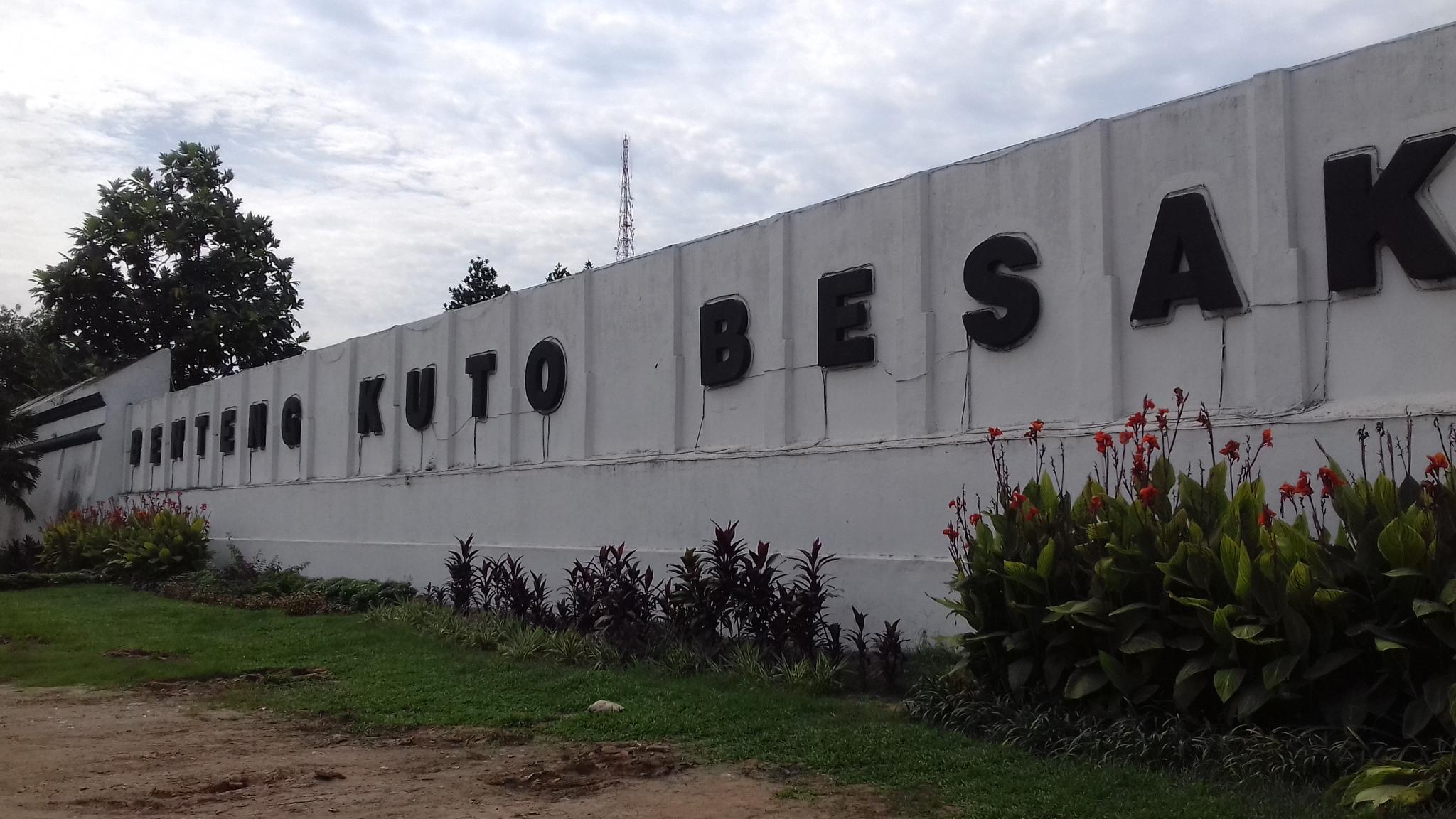 Benteng Kuto Besak Bagian Sejarah Peradaban Kota Palembang Oleh Frans