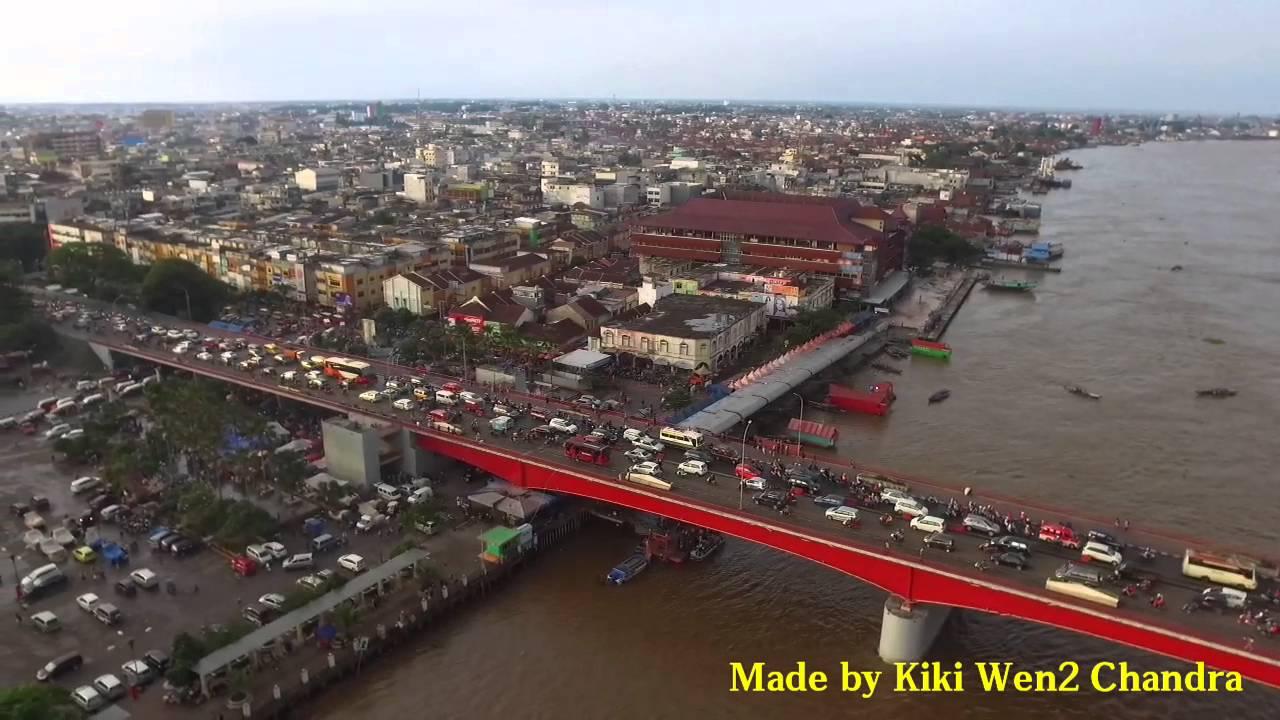 Benteng Kuto Besak Bkb Ampera Palembang 2016 Youtube Kota