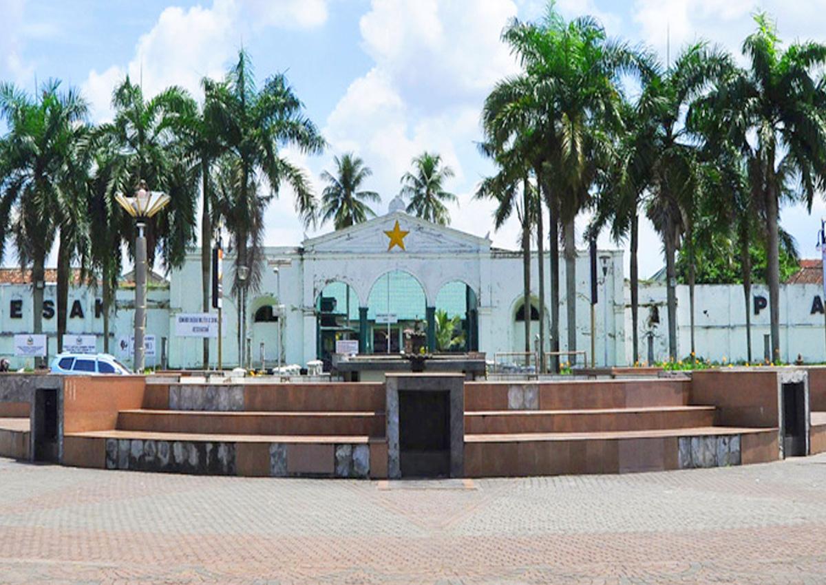Benteng Kuto Besak Palembang Bangun 1780 Indonesian Kota