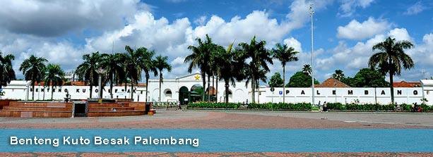 Keindahan Palembang Benteng Kuto Besak Tempat Nongkrong Favorite Kota