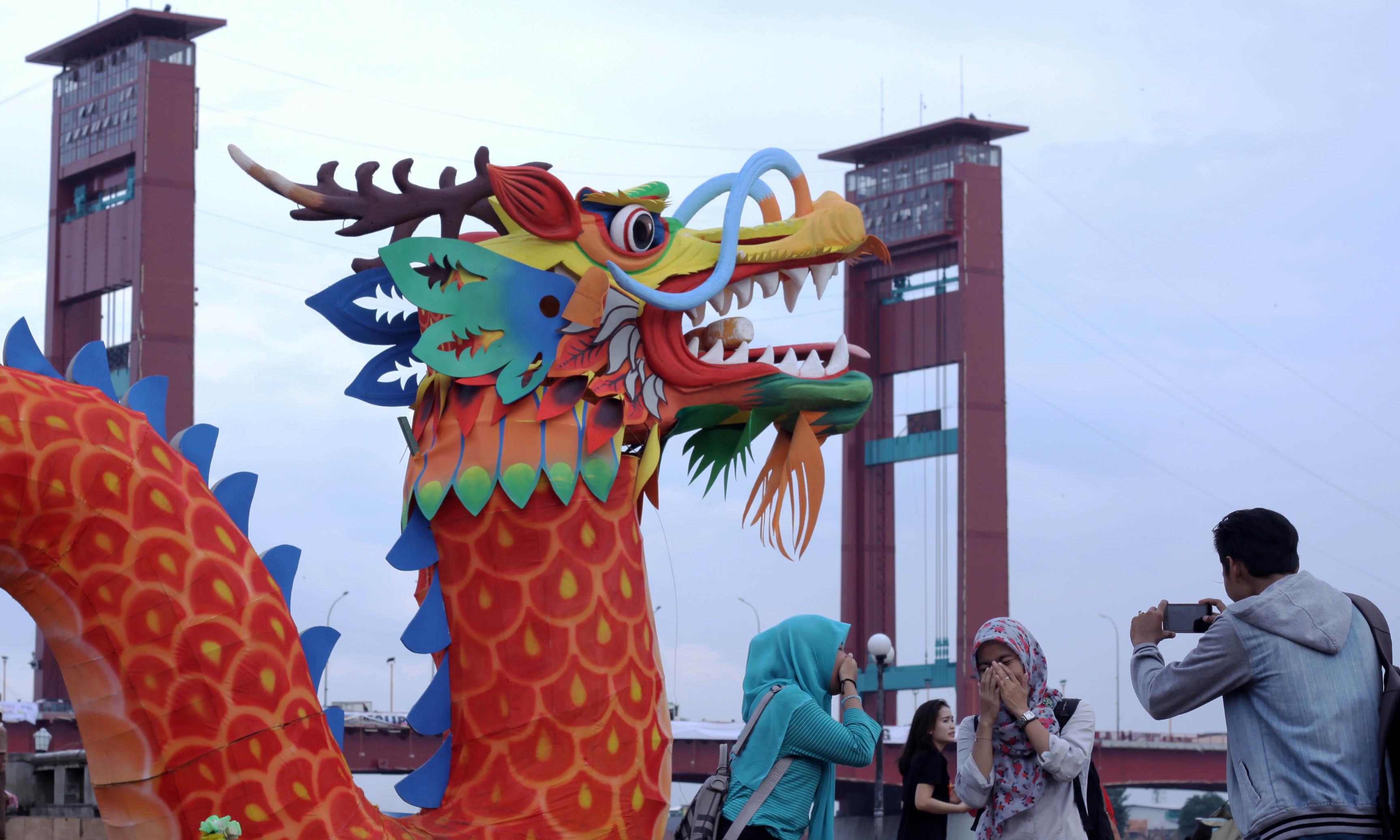 Pasca Gmt Palembang Pengunjung Luar Kota Mancanegara Sejumlah Benteng Kuto